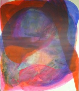 Another world, 2010, acrylic on canvas, 220 x 190 cm