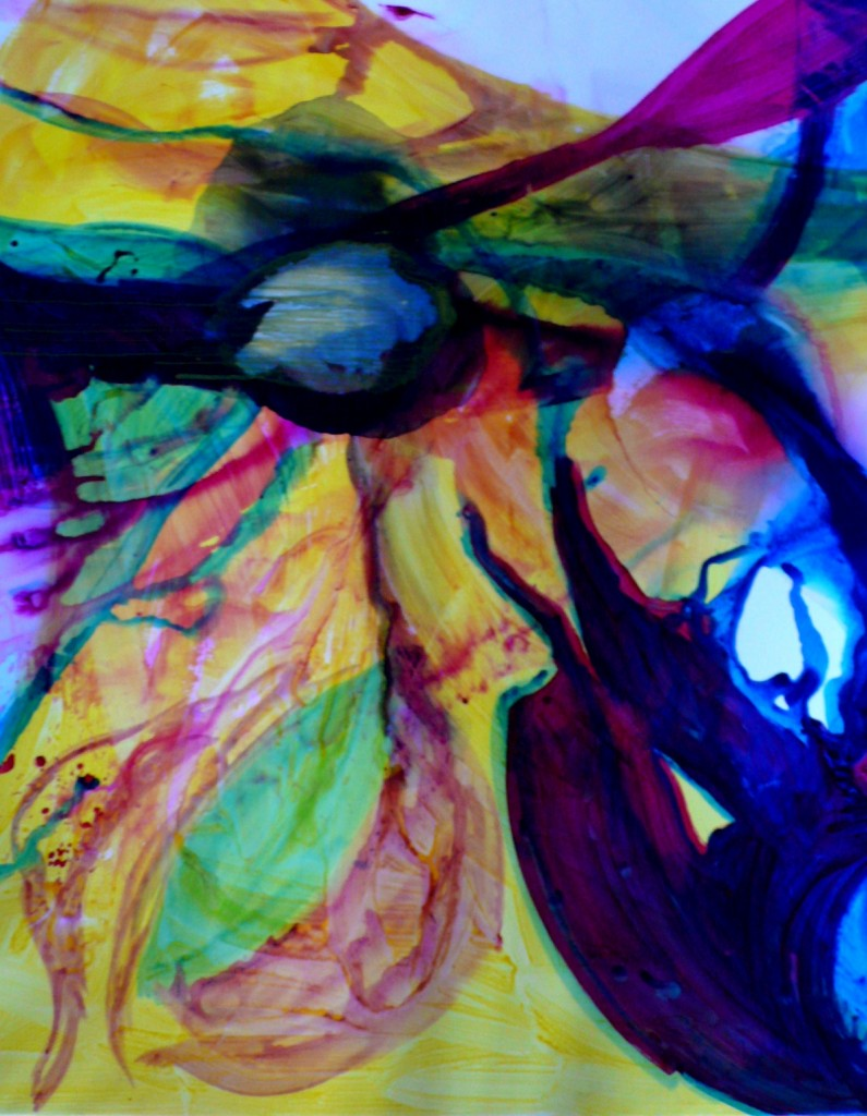 """large """"abstract"""", 220x190cm, acrylic on canvas, 2010"""