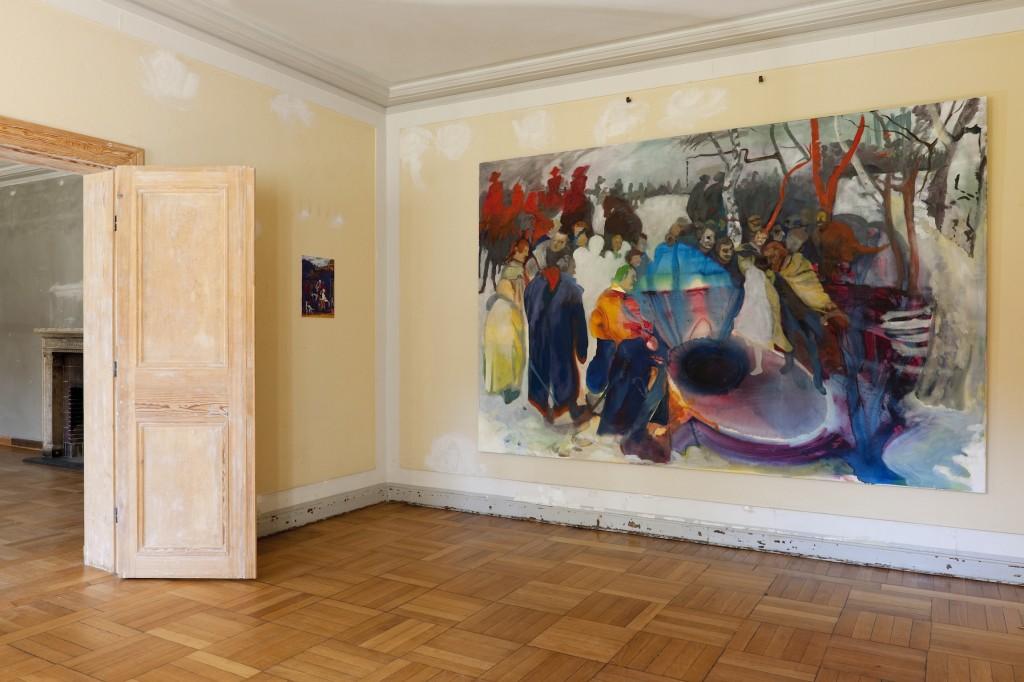 Paradestücke, Schloss Sacrow, 2012, kuratiert von Birgit Möckel, mit Neues Atelierhaus Panzerhalle