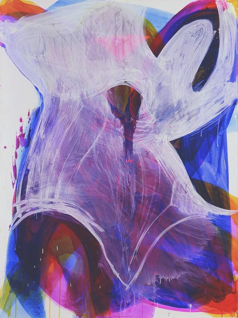 o.T. 2006, acrylic on canvas, 160 x 120cm