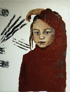 Louisa, 1994, acrylic on canvas, 80 x 60 cm